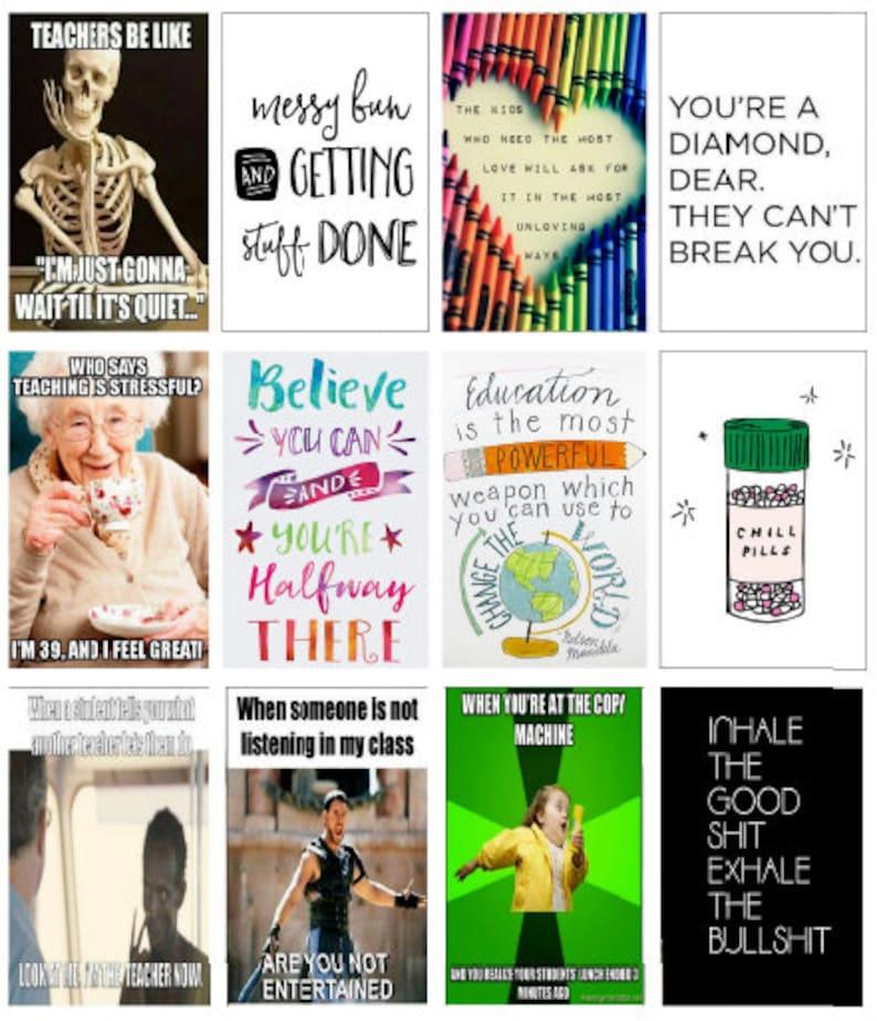 Big Happy Planner Teacher Stickers Teaching Quotes Adulting Quote Full Size  HP Happy Planner Stickers Big Happy Planner Stickers V 2