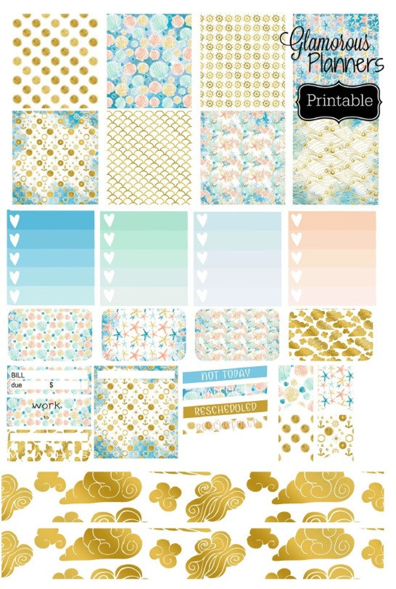 graphic relating to Happy Planner Stickers Printable identified as Mini Joyful Planner Seashore Trip Stickers Printable Pleased Planner Stickers Seashore Stickers Delighted Planner Specific Planner Weekly Sticker Package
