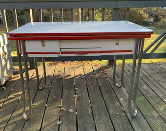 Retro Kitchen Table Etsy