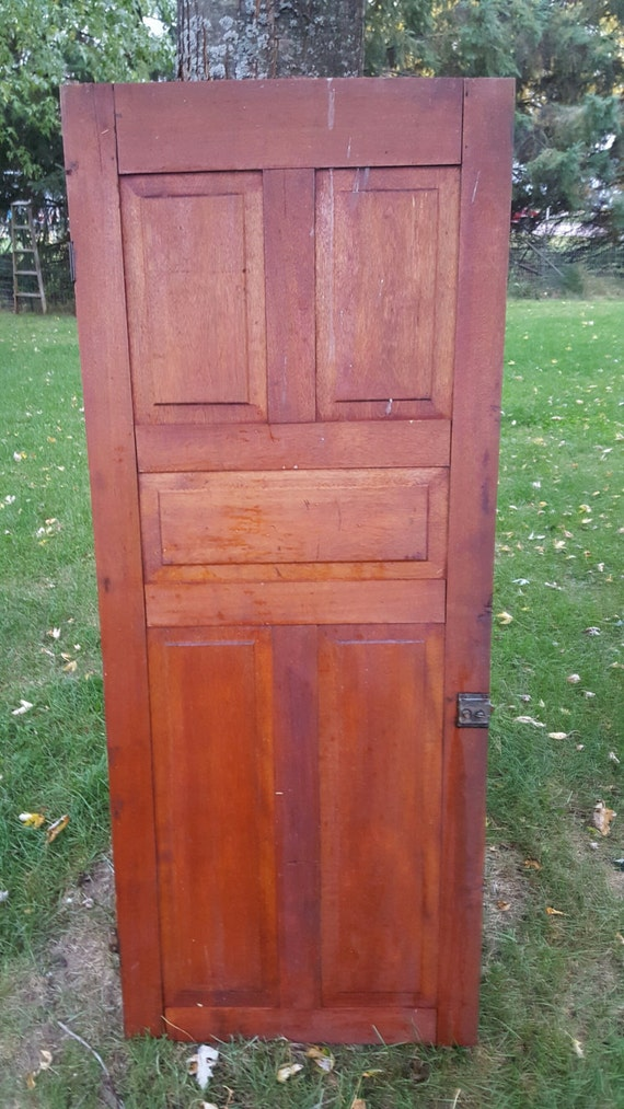 Old Wood Door Antique Cupboard Door Architectural Salvage | Etsy