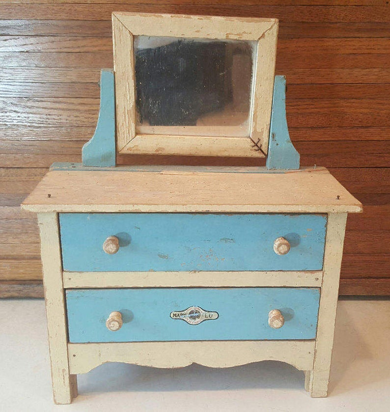 Antique Mary Lu Playthings By Jcp Furniture 1930s Vanity Etsy