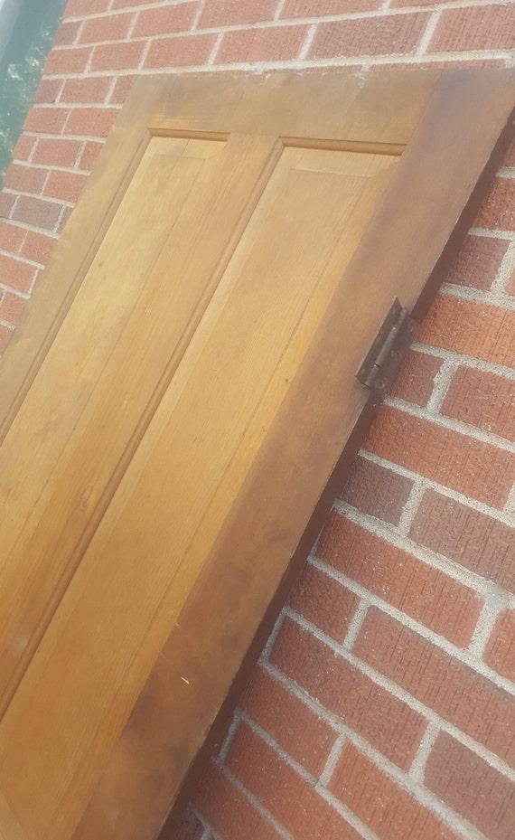 Old Wood Door Antique Interior Door Building Supply Etsy
