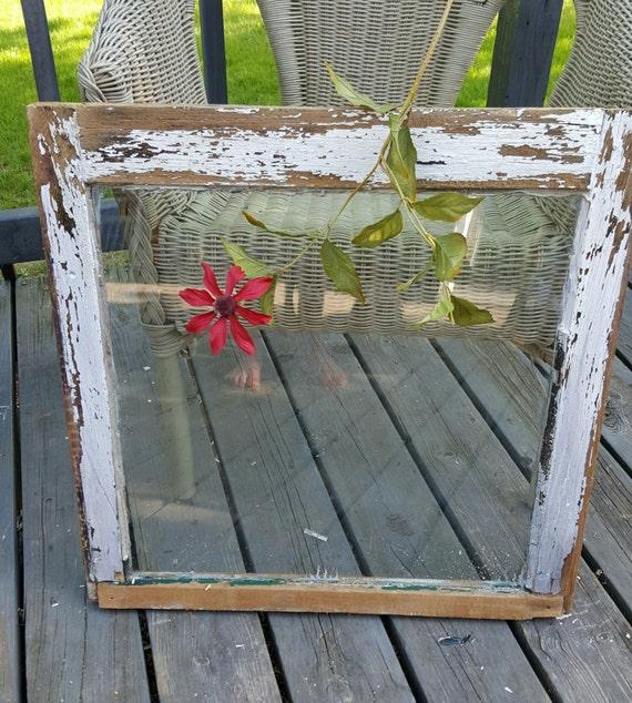 Brand new Old Wood Window , Window Frame, Single Pane Window, Antique Window  SV03