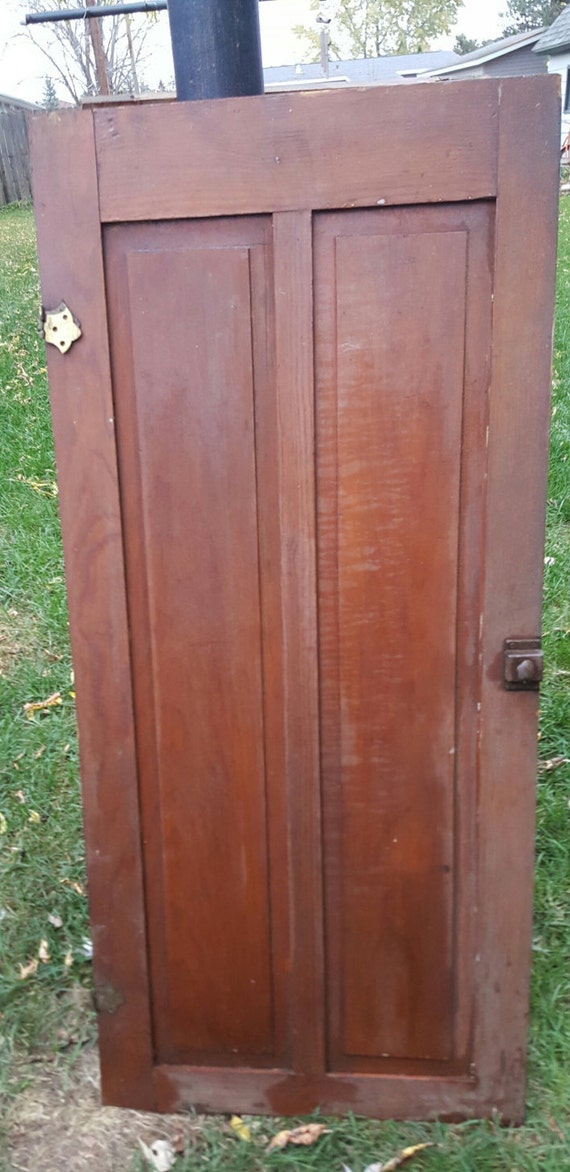 Charmant Old Wood Door Antique Cupboard Door Architectural Salvage | Etsy