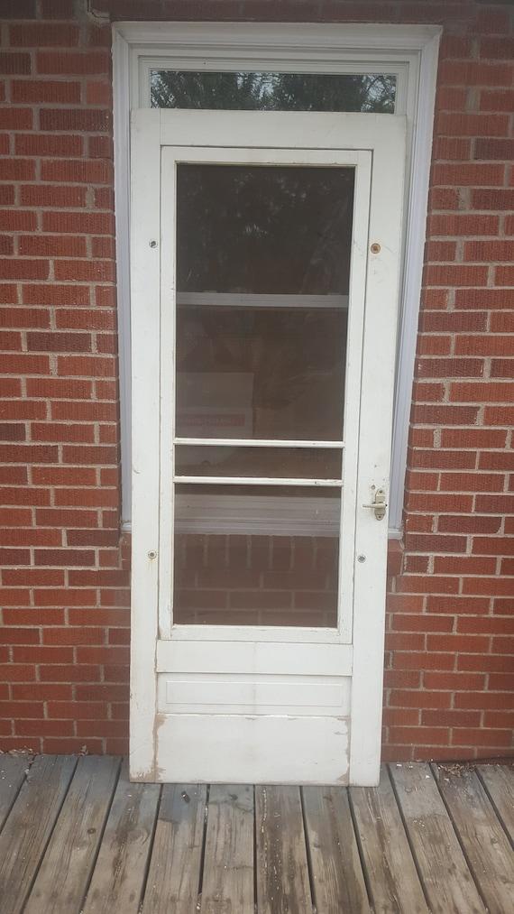 image 0 - Antique Wood Screen Door Old Pantry Door Storm Screen Door Etsy