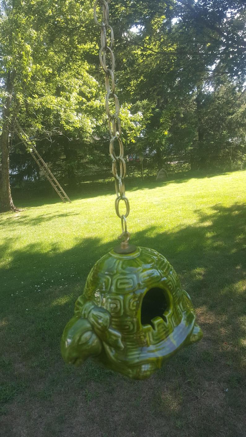 Hanging Ceramic Candle Holder, Tea Light Lite Turtle Lamp, Lantern, Outdoor  Lanterns, Hanging Lamp, Turtle Gift, Outdoor Indoor Lighting