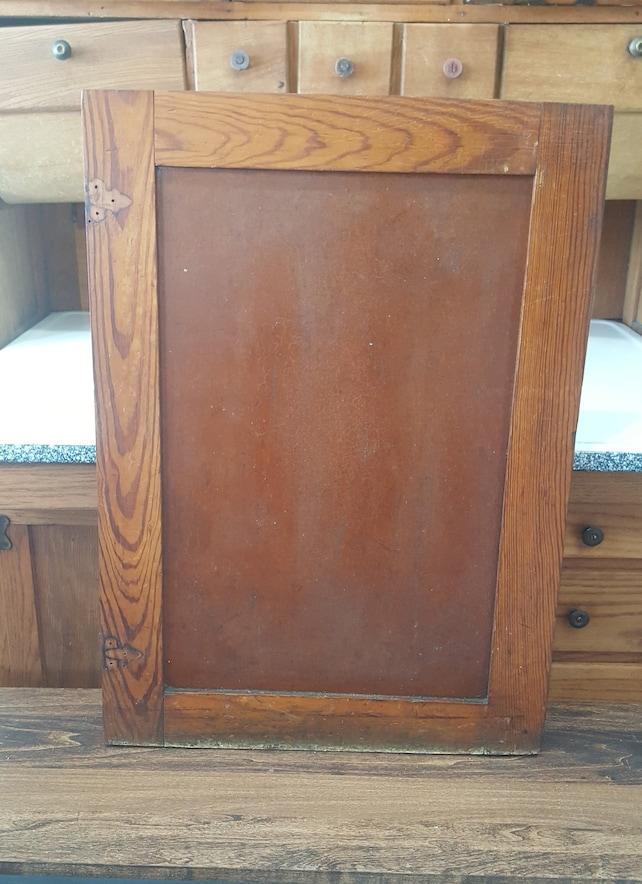 Craftsman Antique Wood Cabinet Door Vintage Schoolhouse | Etsy