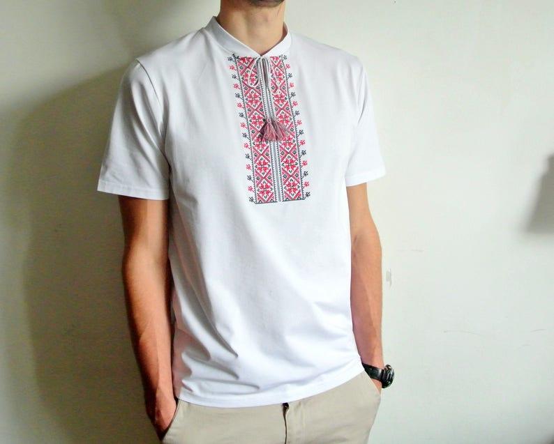 b6e9004fe3c High quality mens ukrainian vyshyvanka. Ukrainian embroidered