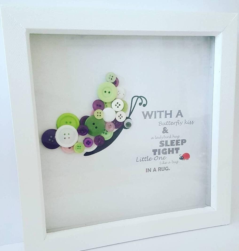 Schmetterlingsbild für Kinderzimmer Schmetterlings-Kunst   Etsy