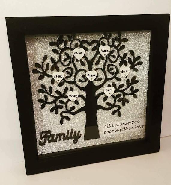 Family Tree Personalised Family Tree Gift Family Wedding Gift Family Tree Gift