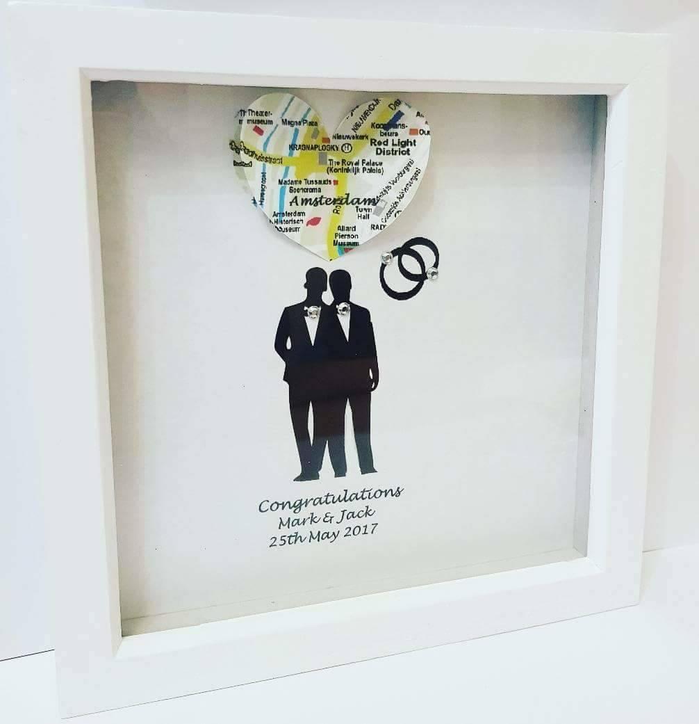 Hochzeit-Rahmen Hochzeitsgeschenke Karte Bild gleichen   Etsy