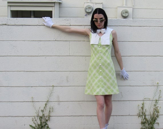 70s Sailor @ A Picnic Dress