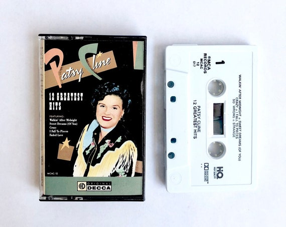 80s Patsy Cline Cassette