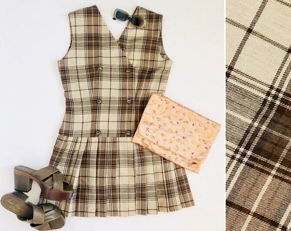 90s Schoolgirl Pleated Dress • 6