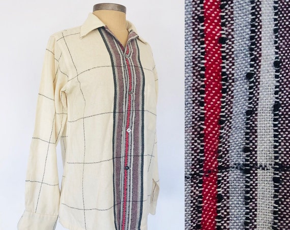 1960s Arrow Wool Button Down