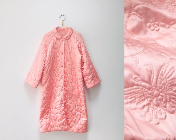 70s Quilted Housecoat