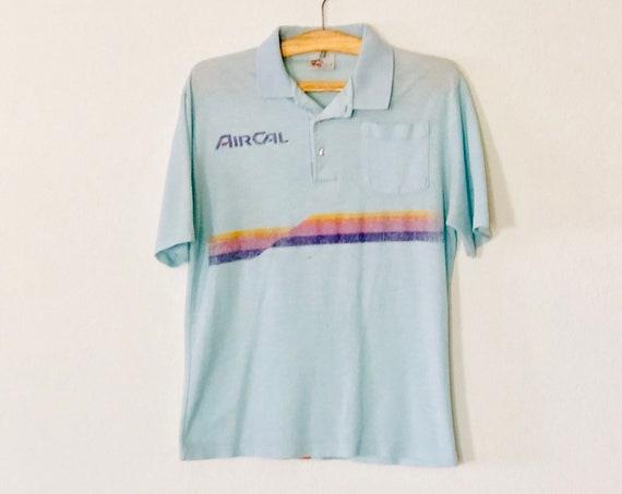 70s AirCal Papuh Thin Polo