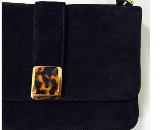 1970s Saks Fifth Avenue Suede Bag