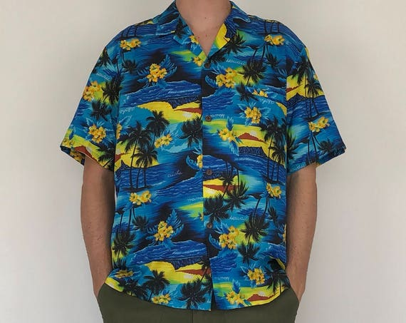 70s Royal Creations Hawiian Shirt ~ xl