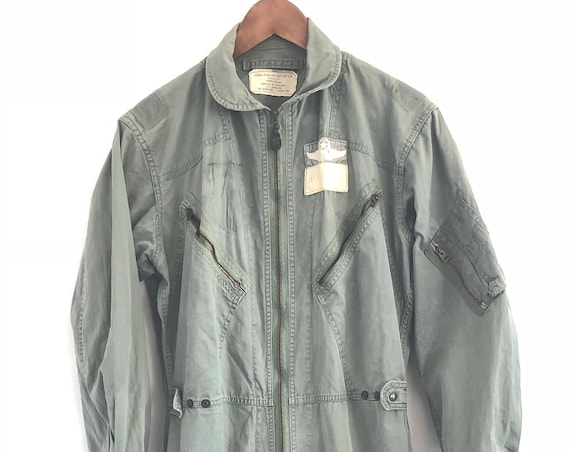 60s flight suit ~ USAF Mens Flying Coveralls