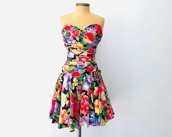80s Party Dress• small US 6•