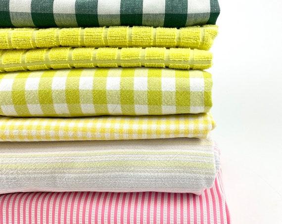 vintage fabrics • different eras/sizes• tablecloth