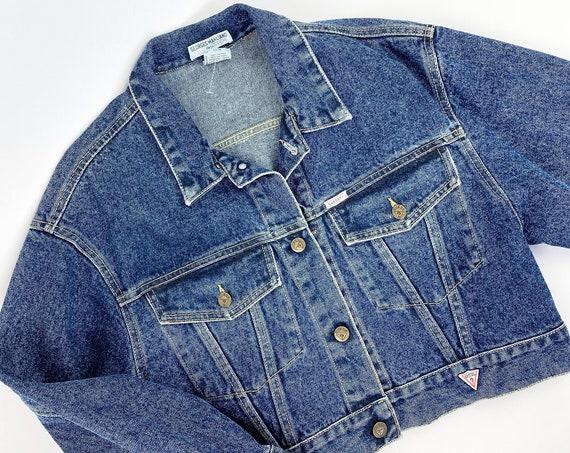 80s Guess cropped jacket •medium•