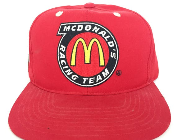 90s Mcdonalds Racing Team Snapback