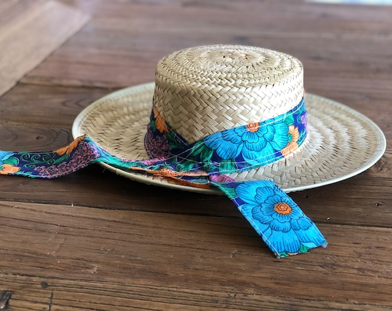80s Panama Woven Hat