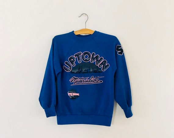 80s Uptown University Materialists Sweatshirt