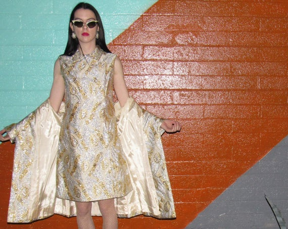 60s Pope Dress and Jacket