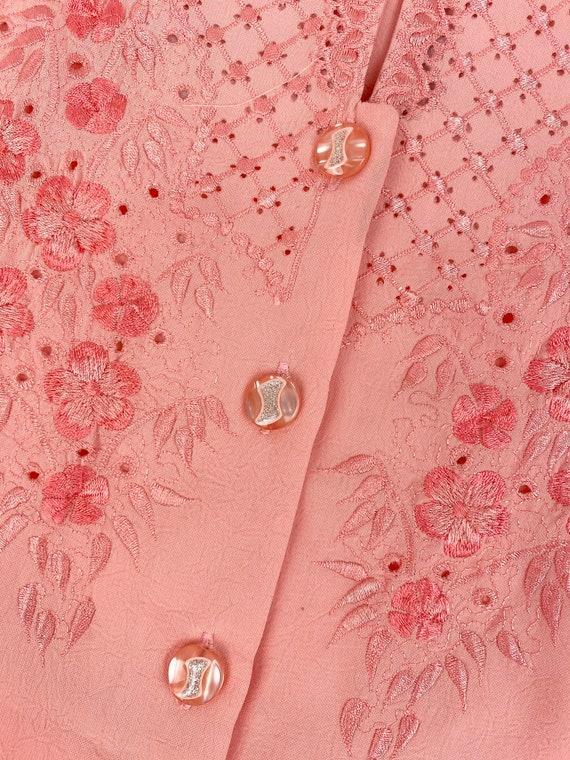 80s Lounge Pant Suit• medium• silk - image 3