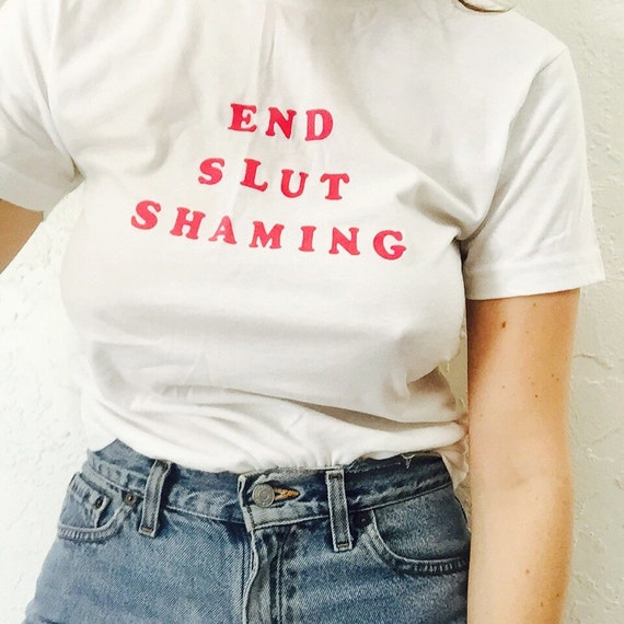 End Slut Shaming Tee