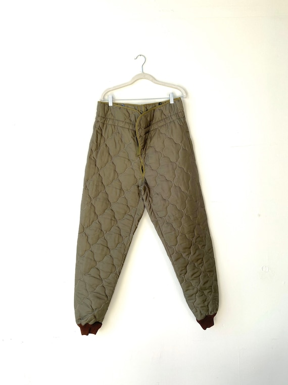 Military Quilted Liner Ozkn Presov ~ Sizing in Pho