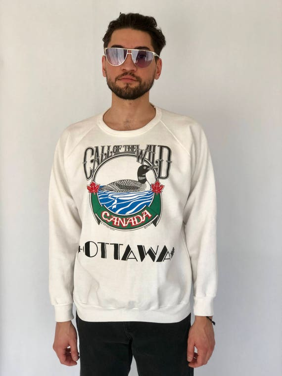 "80s Pullover ""Call of the Wild"" Ottawa"