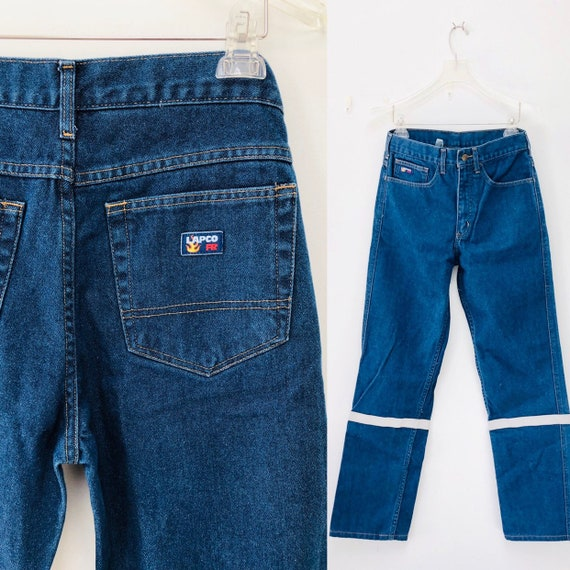 90s Lapco Fire Resistant Jeans 28'