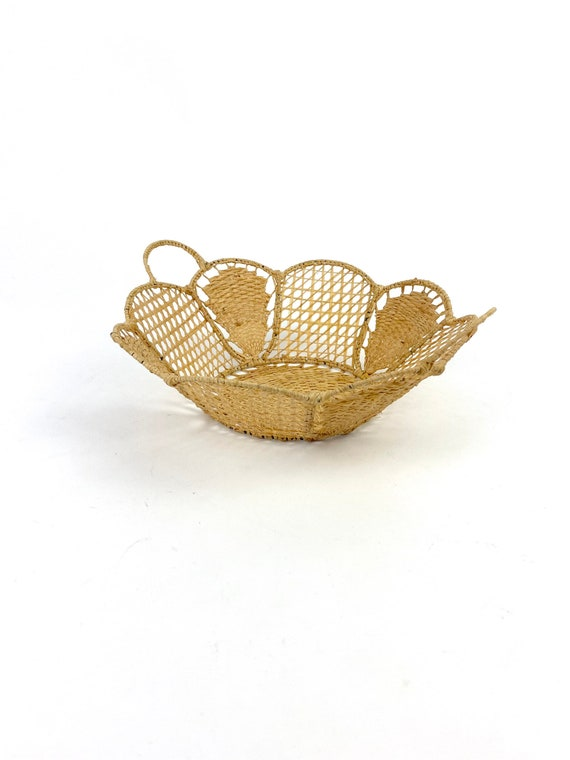 70s  handle Basket