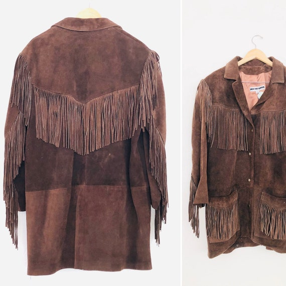 70s Fringe Jacket •large•