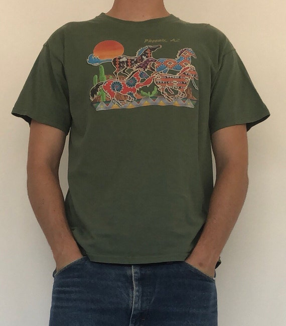 Arizona Desert Horse Tee ~ Large