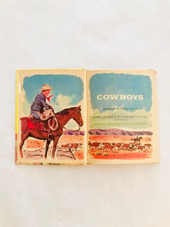 50s Cowboy Children's Book