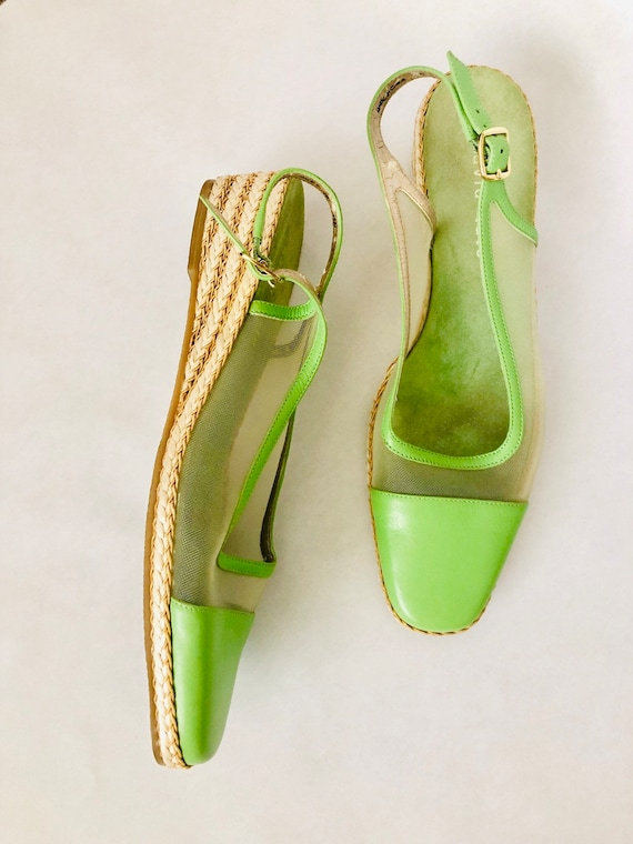 90s Lime Wedge Size 11