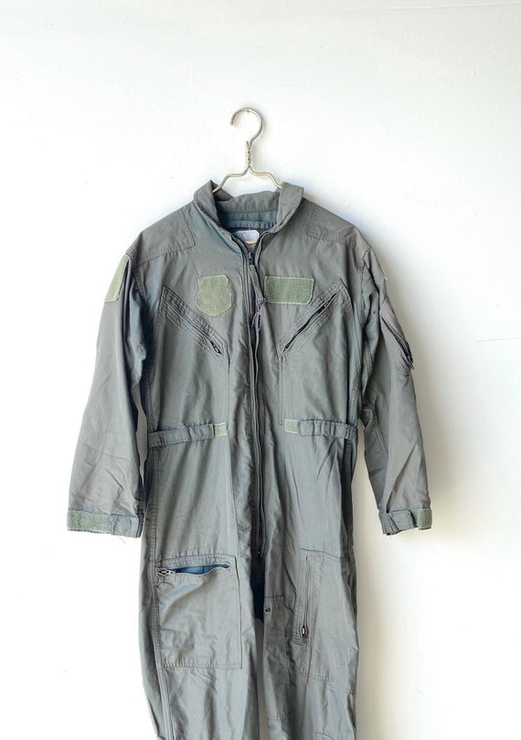 Vintage flying coveralls ~ 42 small
