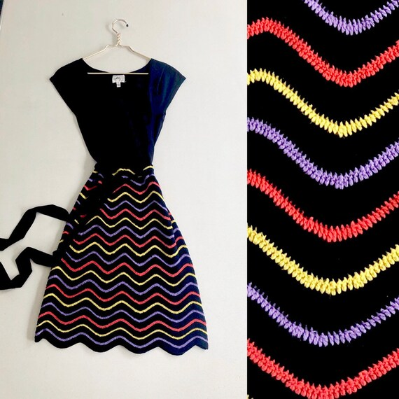 90s Milly Crochet Dress
