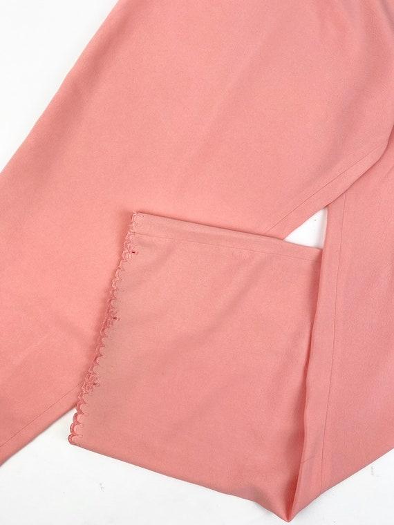 80s Lounge Pant Suit• medium• silk - image 6