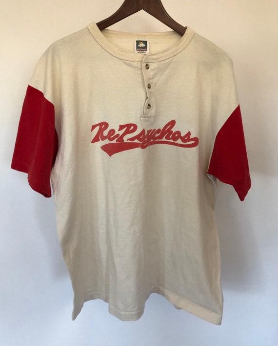 Resphychos Baseball Henley ~ XL