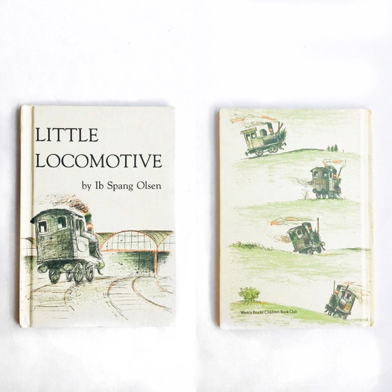 70s Little Locomotive Childrens Book