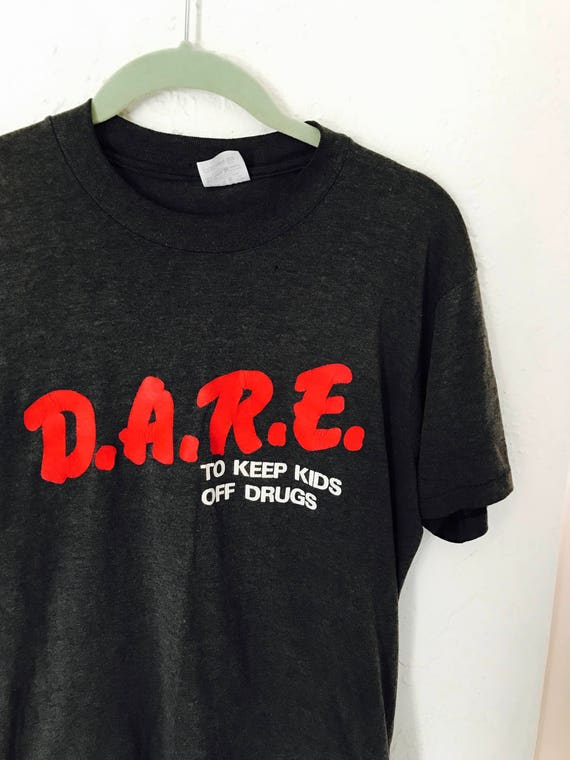 90s d.a.r.e. Tshirt distressed