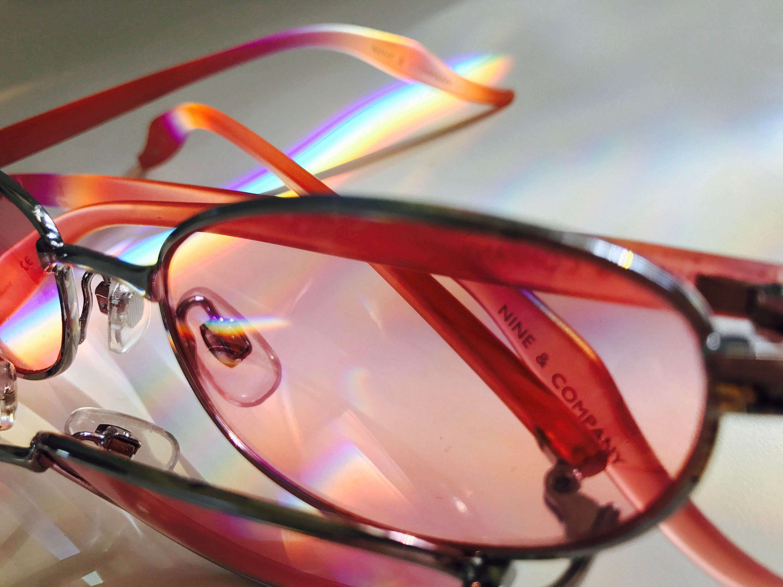 80eea95d56 90s Nine Company Rose Colored Glasses