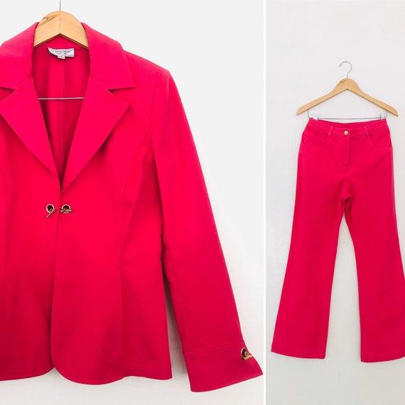 90s ST. John Sport By Marie Gray Suit• Medium•