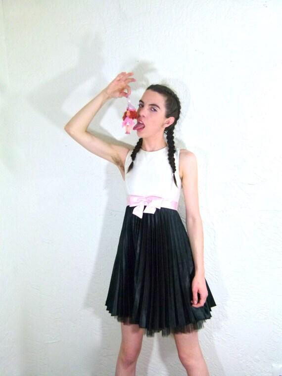 90s Punk Rock Babydoll Dress | Etsy